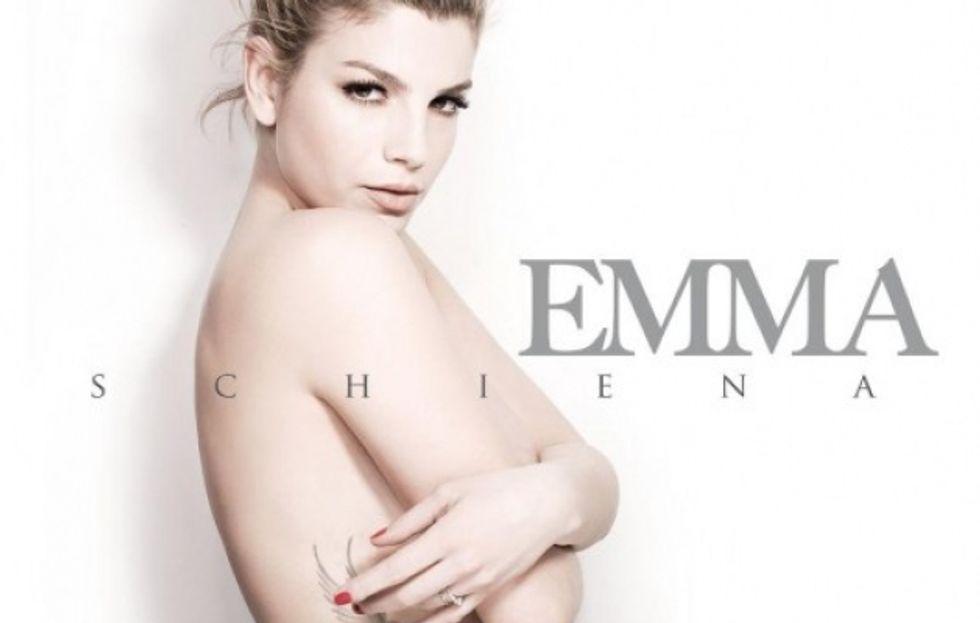 """Emma mostra """"Schiena"""", il suo nuovo album"""
