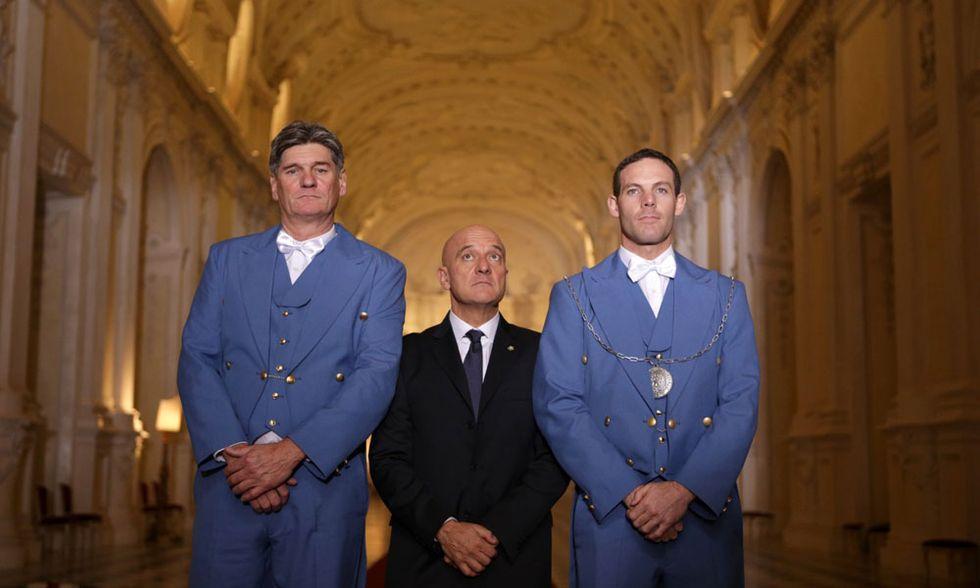 Benvenuto Presidente!, Claudio Bisio per il post-Napolitano