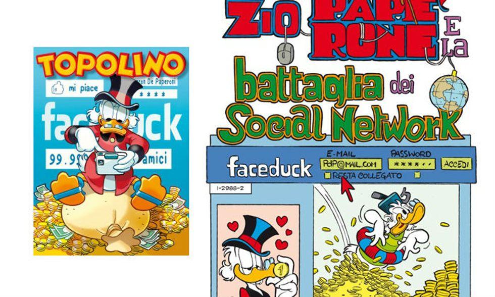Fumetti: Disney, Zio Paperone al tempo di Facebook