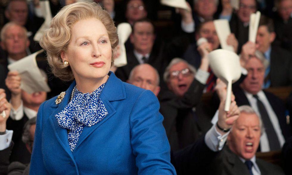 Margaret Thatcher, The Iron Lady al cinema