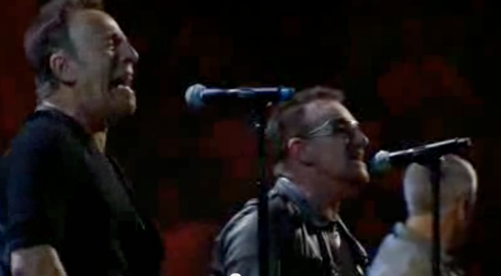 Il video cult: U2 e Bruce Springsteen live - I still haven't found what I'm looking for