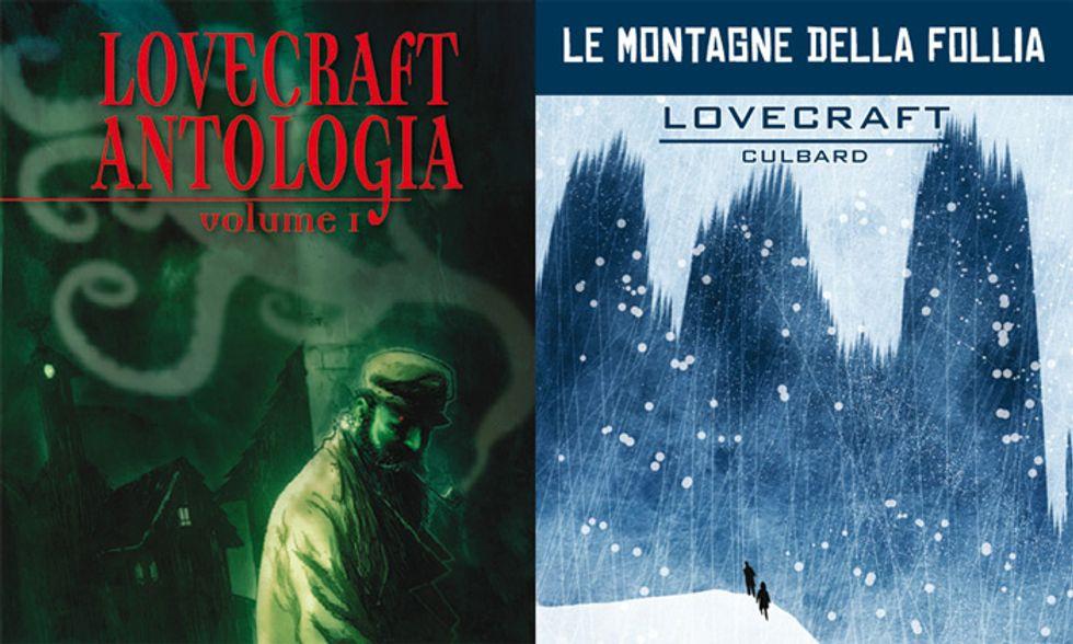 'Lovecraft Antologia' e 'Le montagne della follia': classici dell'orrore a fumetti