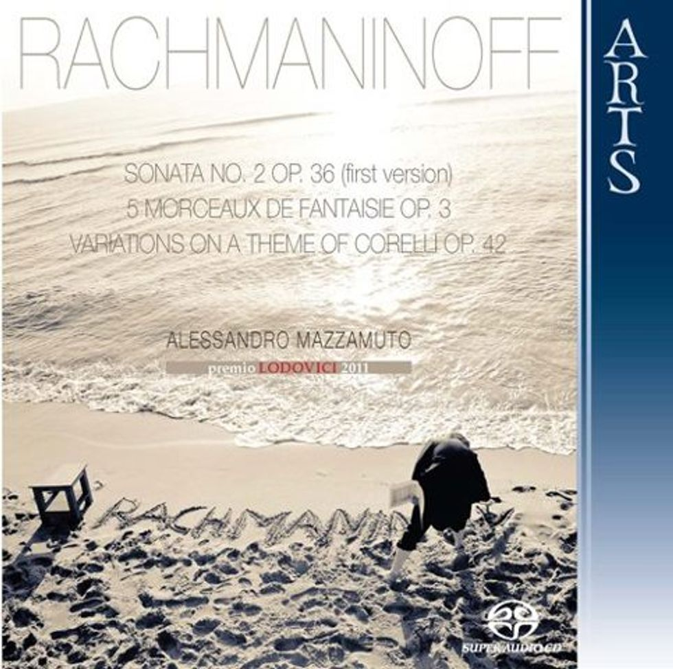 Quel genio di Rachmaninoff suonato da Alessandro Mazzamuto