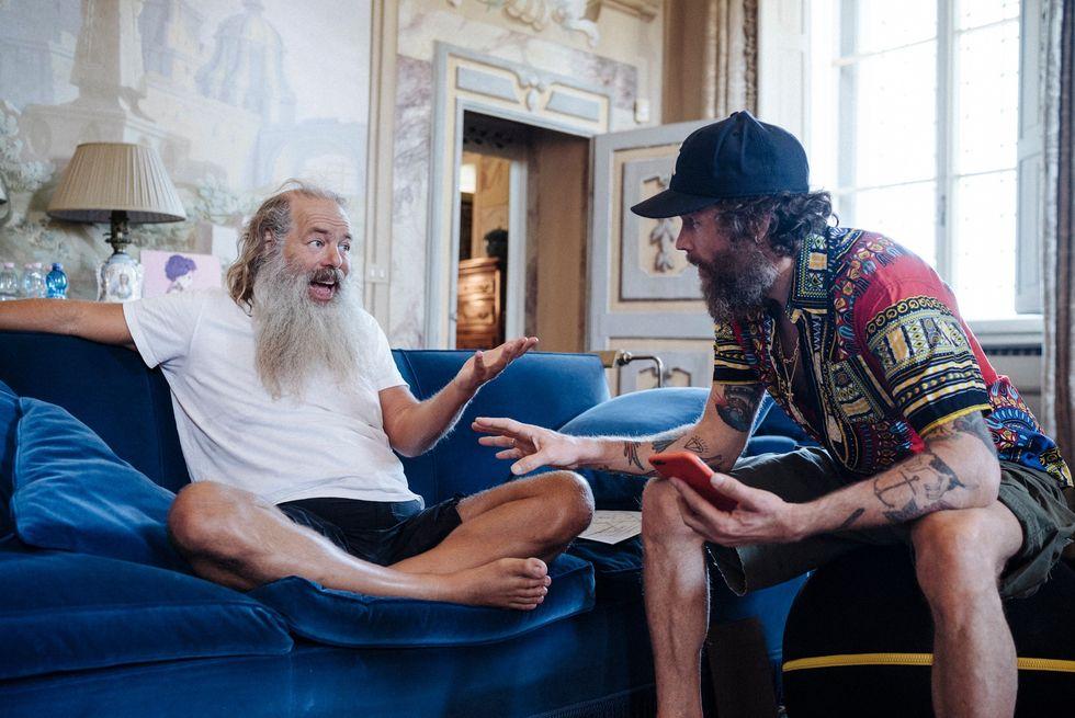 Rick Rubin e Jovanotti