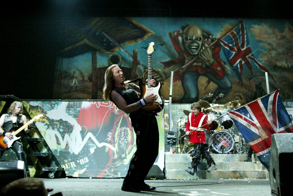 Nella cantina degli Iron Maiden