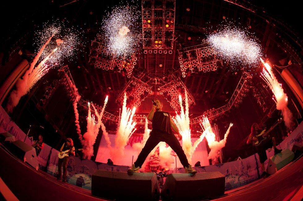 Iron Maiden: i re del metal al Sonisphere Festival