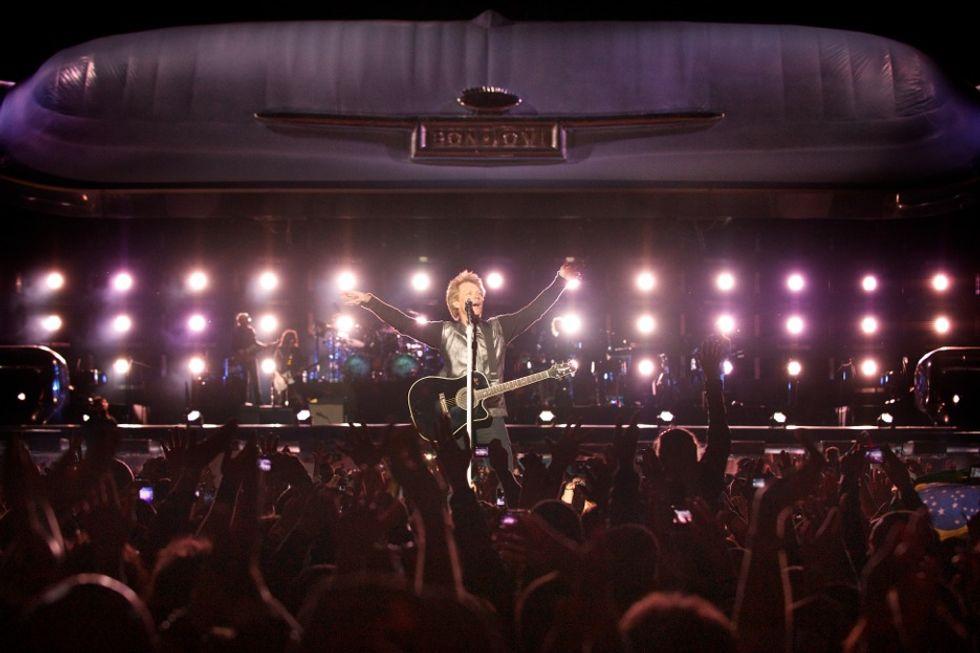 Bon Jovi: debutto a San Siro il 29 giugno - La (probabile) scaletta dello show