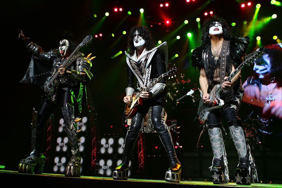 I Kiss all'Arena di Verona l'11 giugno 2015