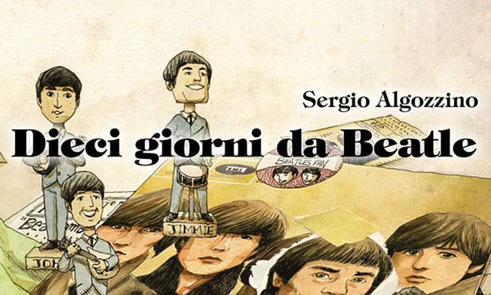 """Fumetti: i """"Dieci giorni da Beatle"""" di Jimmie Nicol"""