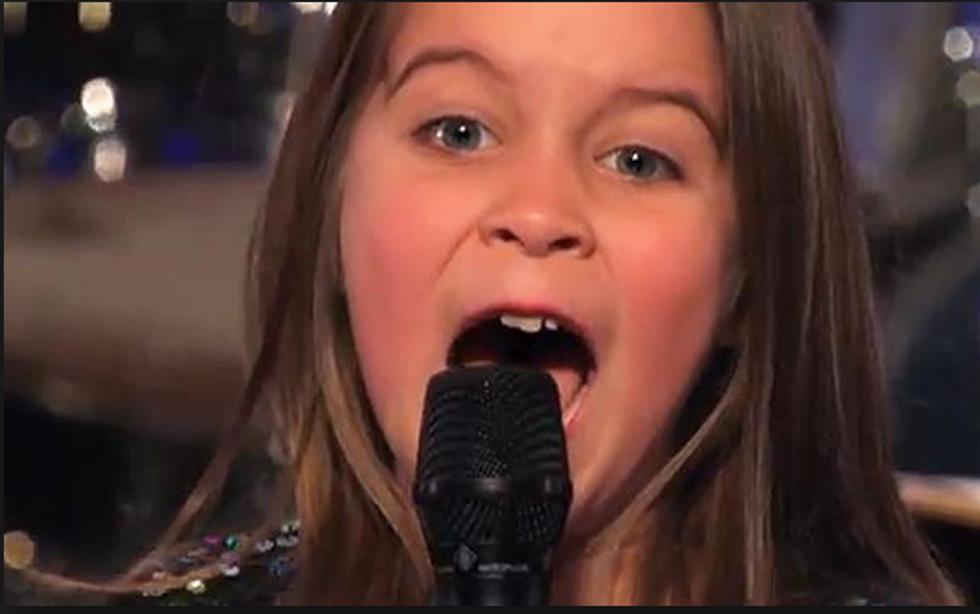 La baby metallara manda in tilt America's got talent - video