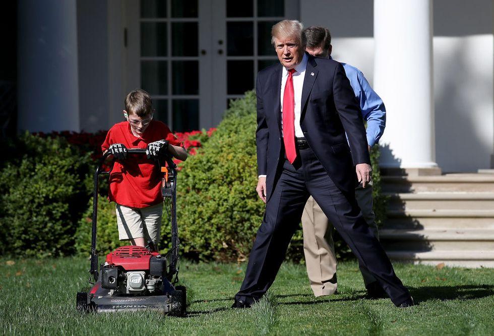 Voglio fare il giardiniere alla Casa Bianca - FOTO