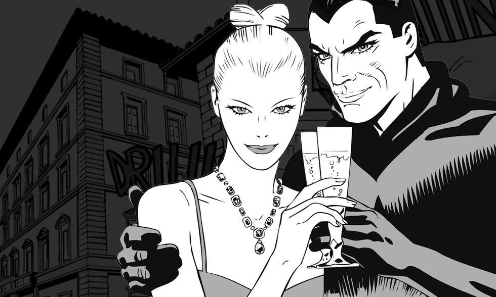 Diabolik ed Eva Kant: la coppia più ricercata del mondo
