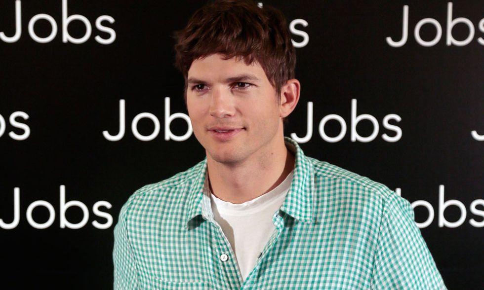 Ashton Kutcher, l'emozione e il terrore di essere Steve Jobs