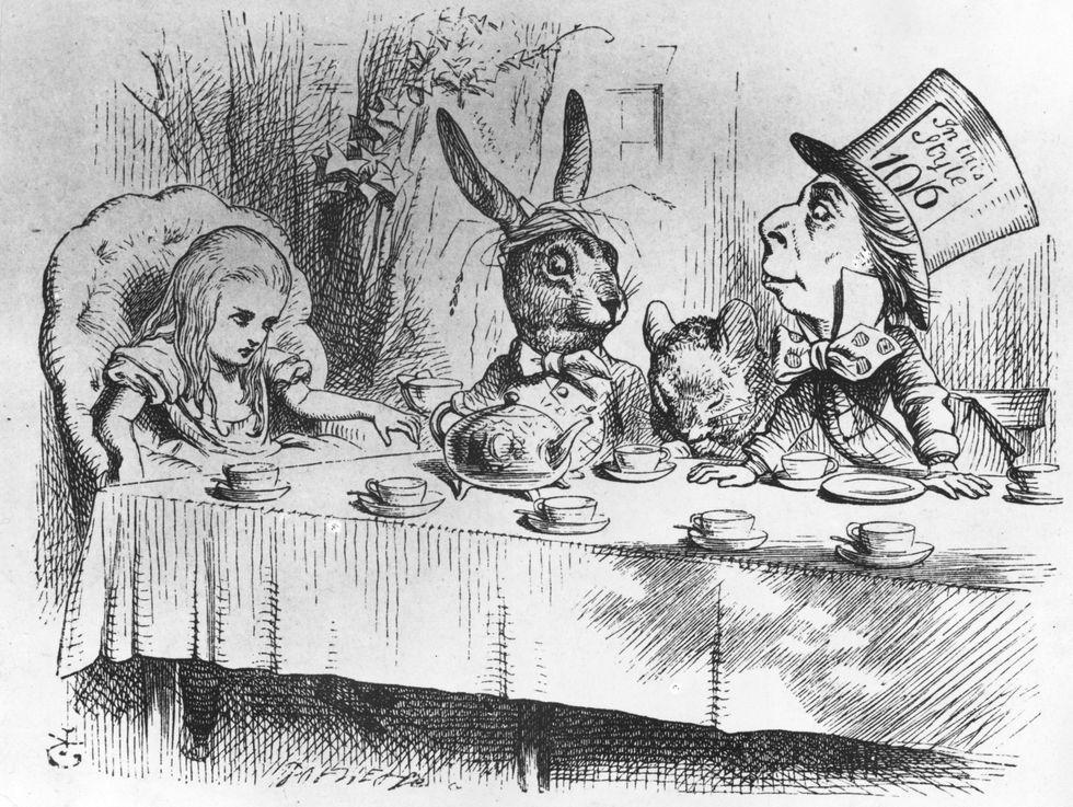 Alice nel paese delle meraviglie e... in cucina