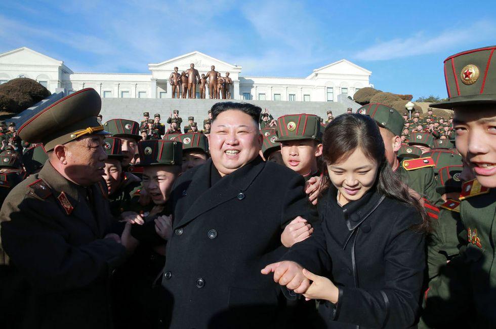 moglie Kim Jong un