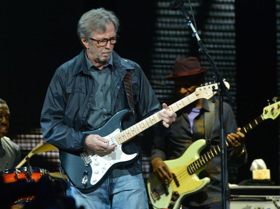 "Eric Clapton: ""Mai più concerti"""