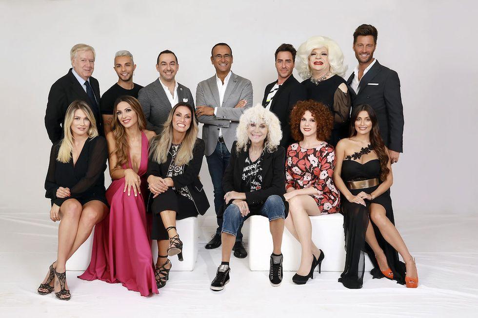 Tale e Quale Show 2017 cast