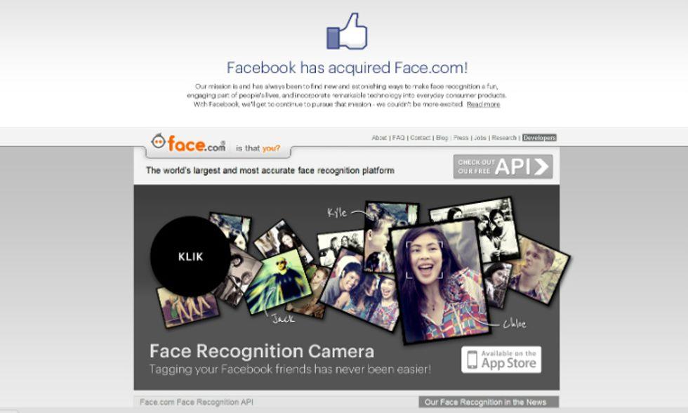 """Facebook """"mangia"""" Face.com (e riconosce i nostri volti)"""