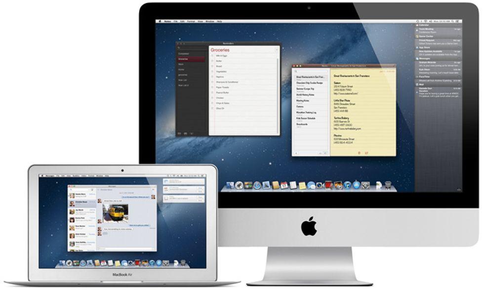 Le novità di OS X Mountain Lion