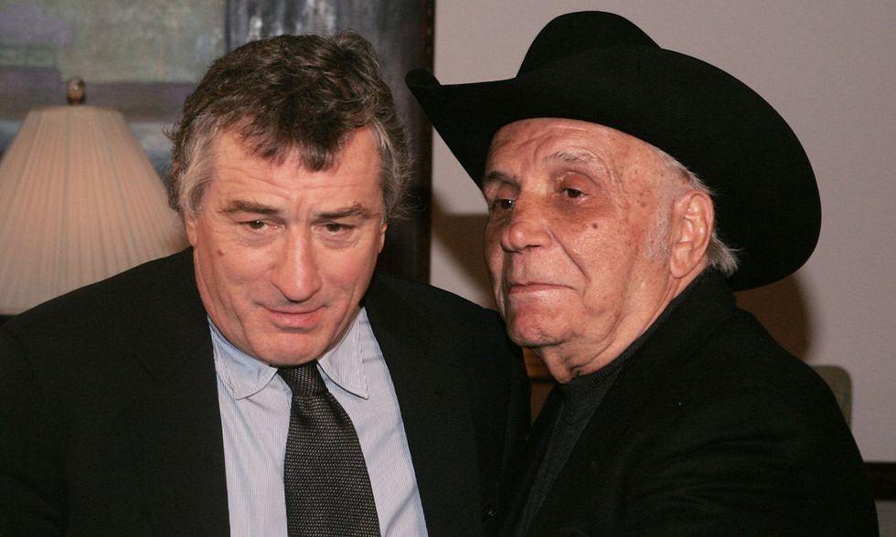 Robert De Niro e Jake LaMotta