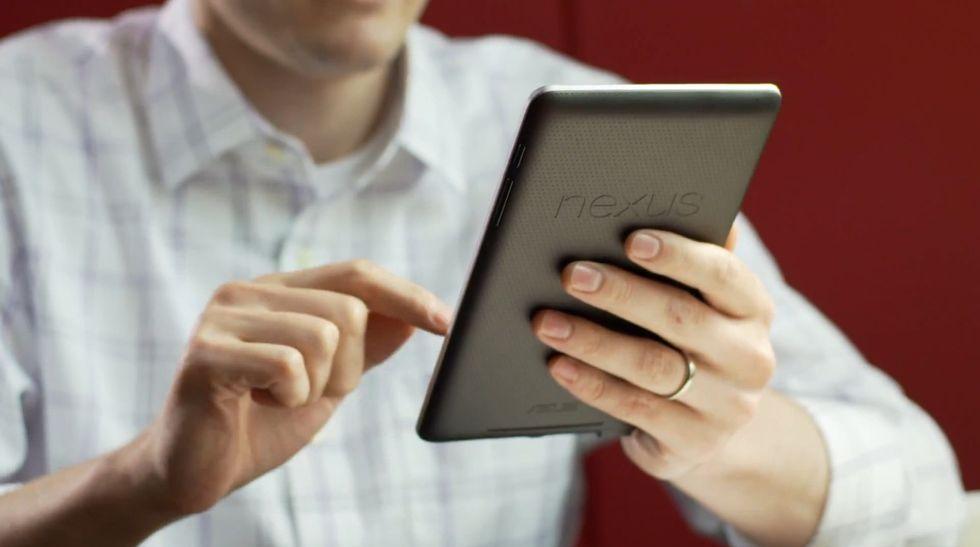 Nexus 7, la risposta di Google al Kindle Fire