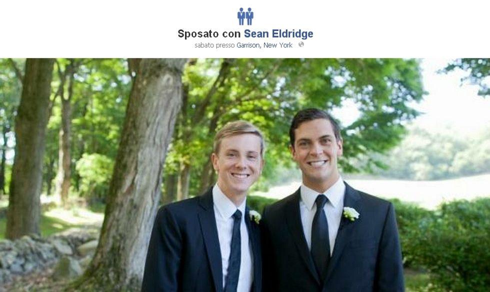 Facebook riconosce i matrimoni gay