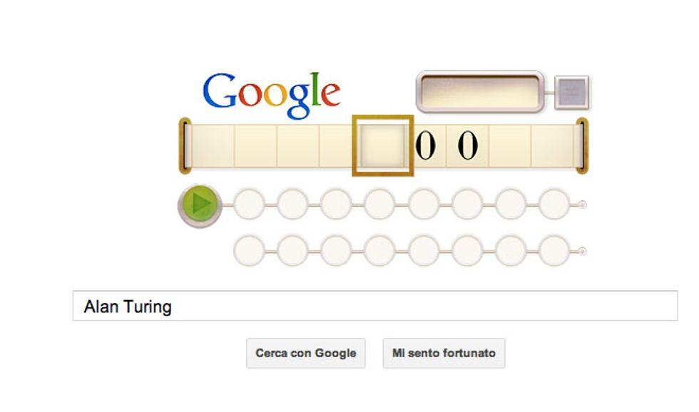 Alan Turing, anche Google lo celebra con un doodle