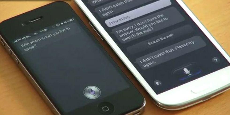 Samsung Galaxy S3: S-Voice meglio di Siri?