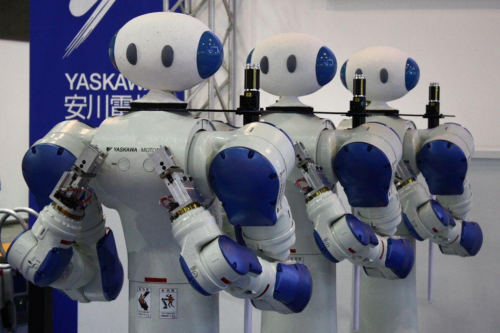Sempre più robot al posto dell'uomo. Anche nel pagare le tasse?