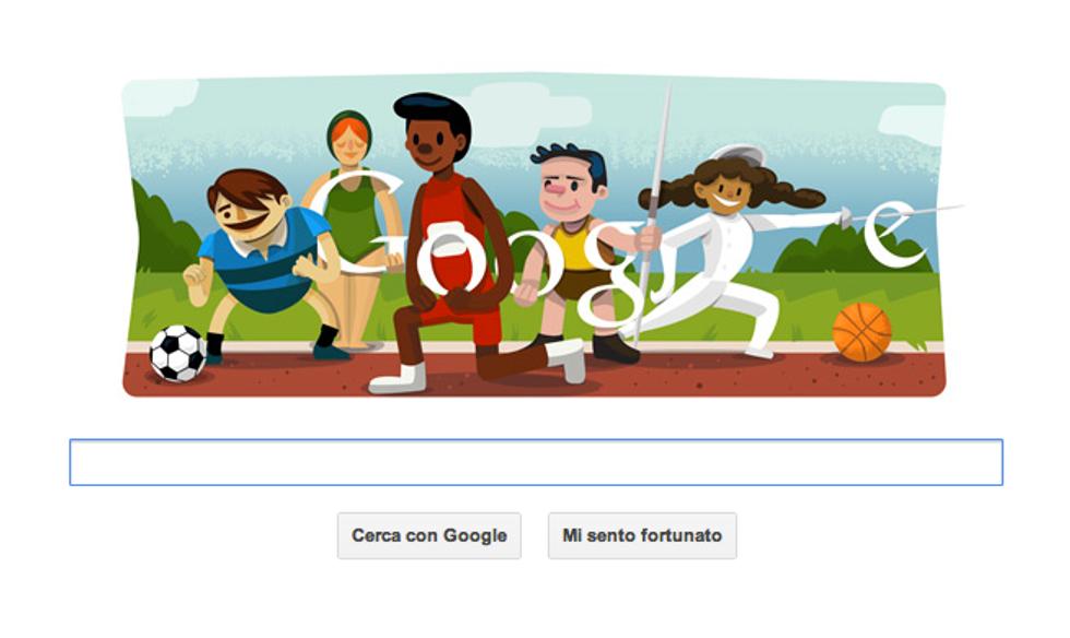 Olimpiadi, un Doodle per la cerimonia di apertura