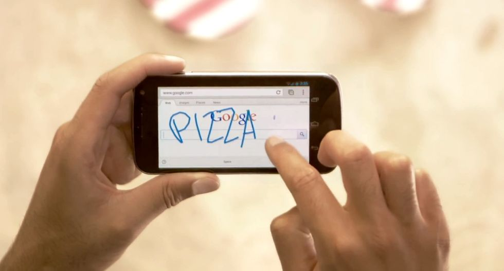 Google Handwrite, da oggi le ricerche si fanno a mano