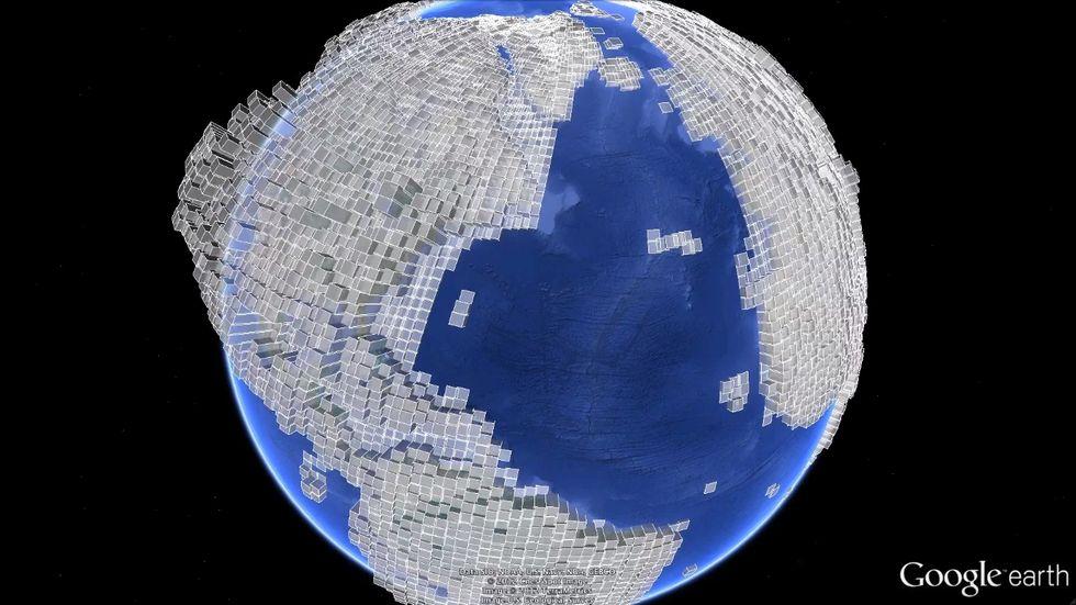 Google Earth, ecco come è cambiato il Pianeta Terra negli ultimi 40 anni