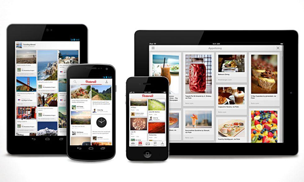 Pinterest: ora anche su iPad e Android