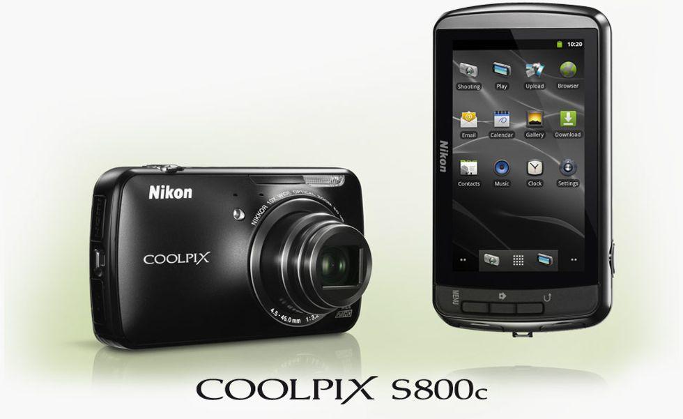 Nikon Coolpix S800c, la prima fotocamera Android