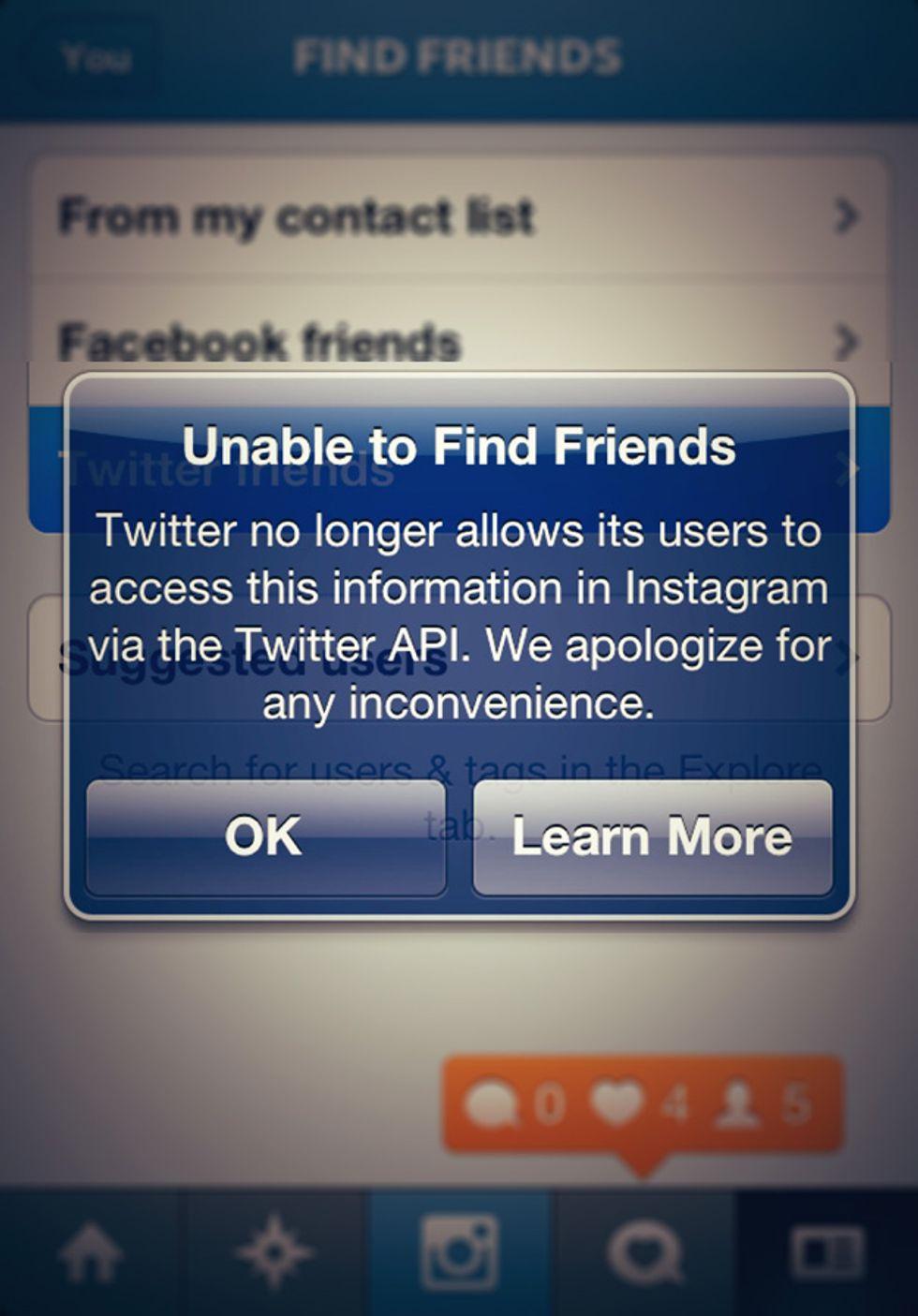 Twitter rompe l'amicizia con Tumblr
