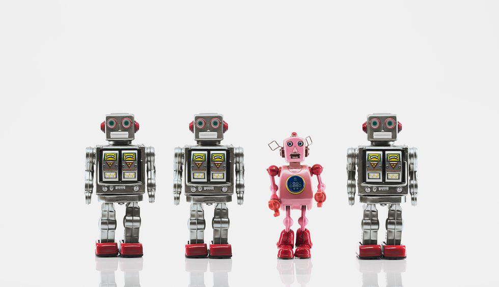 Robot: e adesso...vogliamo anche decidere