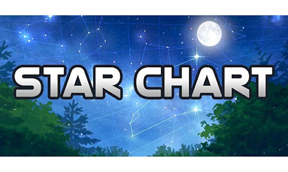 Le migliori applicazioni per Android: Star Chart