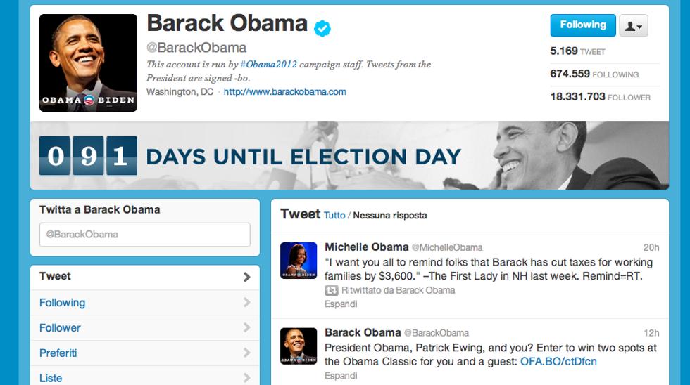 Falsi molti dei followers di Obama e Romney