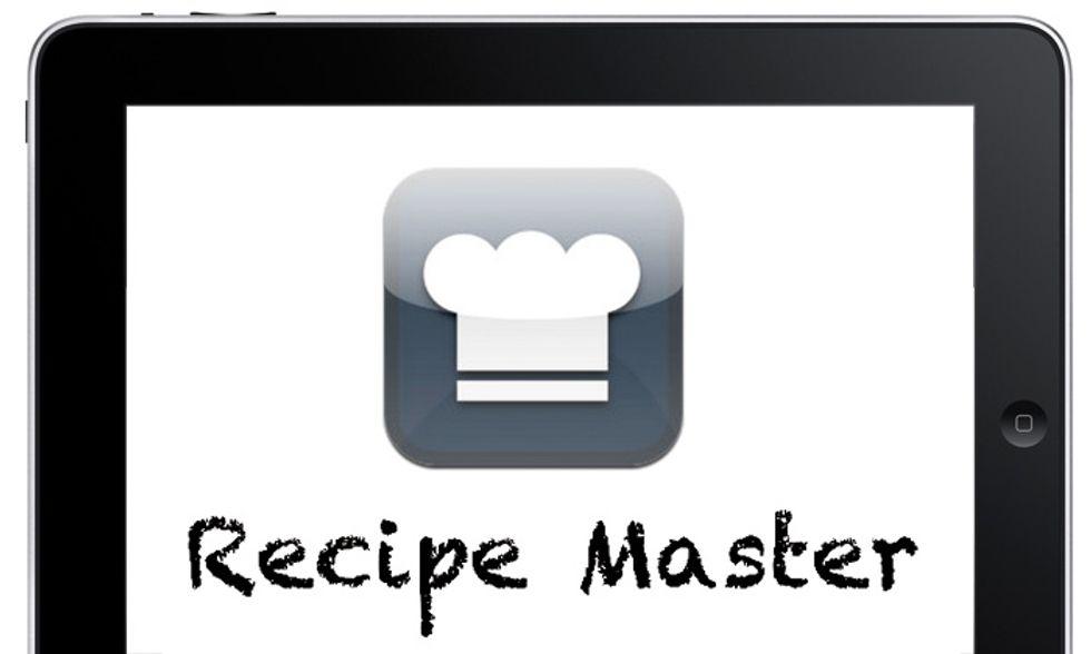 Le migliori applicazioni per iPad: Recipe Master