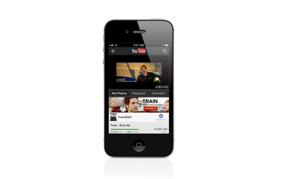 Google lancia il nuovo YouTube per iOS, in attesa dell'iPhone 5