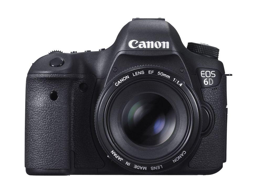 Canon Eos 6D, le immagini