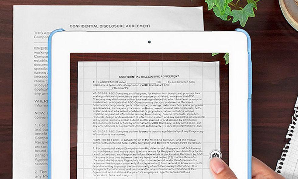 Le migliori applicazioni per iPad: Scanner Pro