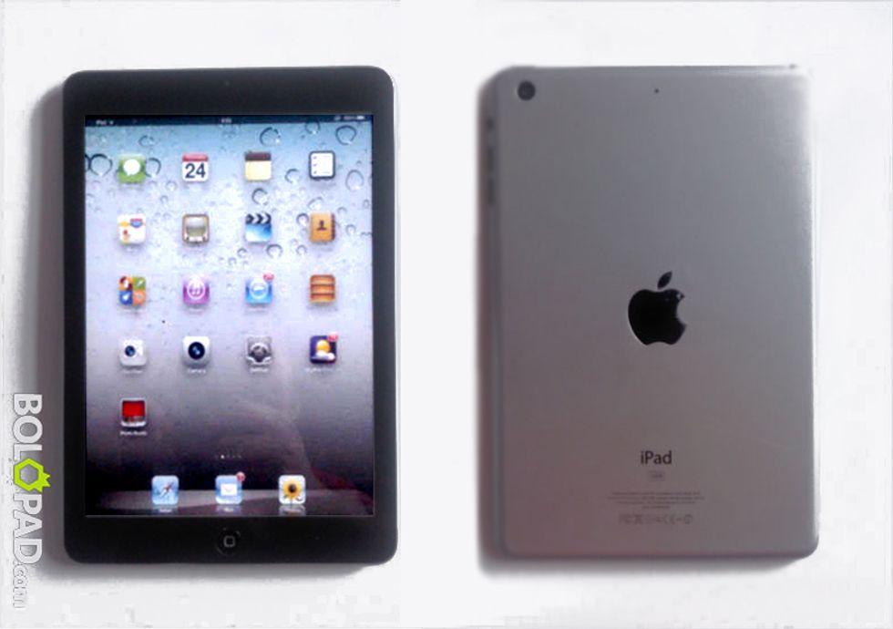 iPad-mini: ecco le prime foto (non ufficiali)