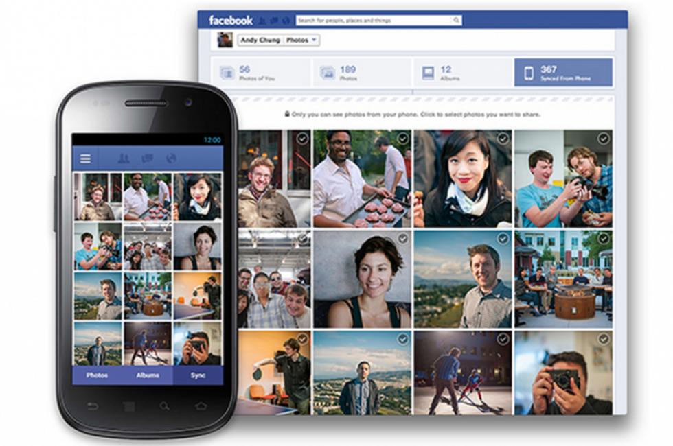 Facebook Photo Syncing, arriva l'upload automatico delle immagini scattate da Android