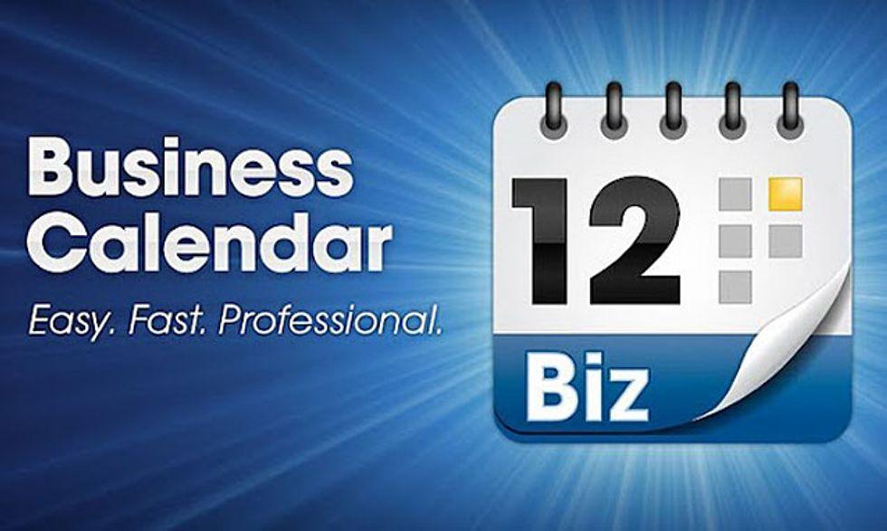 Le migliori applicazioni per Android: Business Calendar
