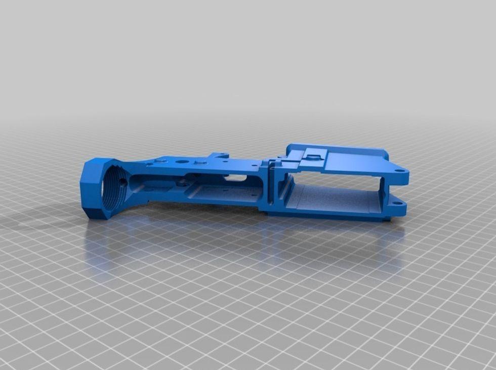 Mi sono costruito una pistola in casa. Con una stampante 3D