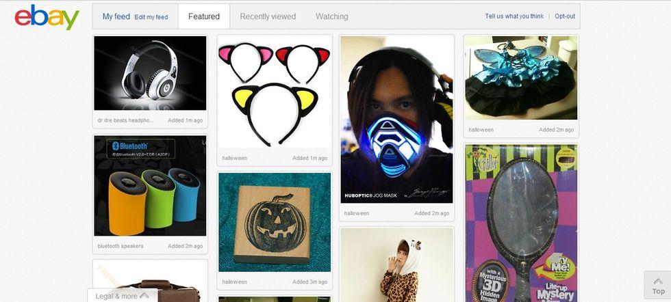 Anche eBay copia Pinterest: è la Pinterestification bellezza