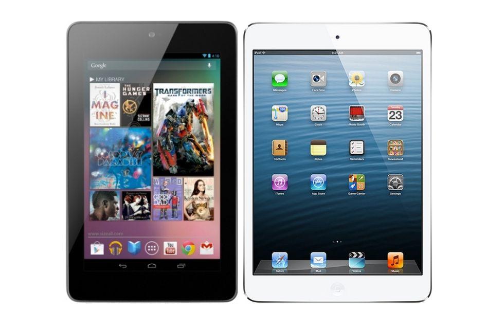 iPad mini, Nexus 7 e Kindle Fire HD: chi vince la guerra dei tablet mignon?
