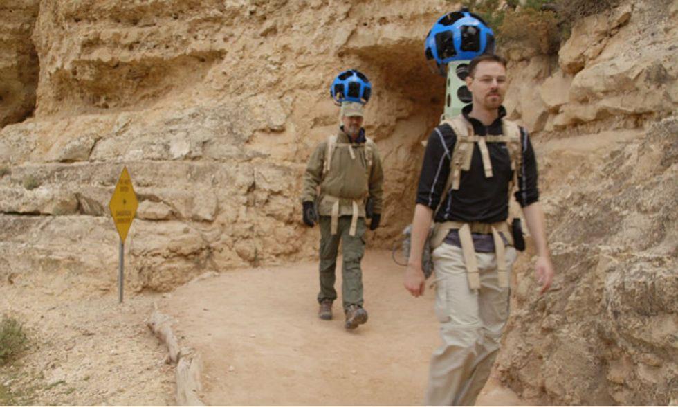 Google, nel Grand Canyon con Street View