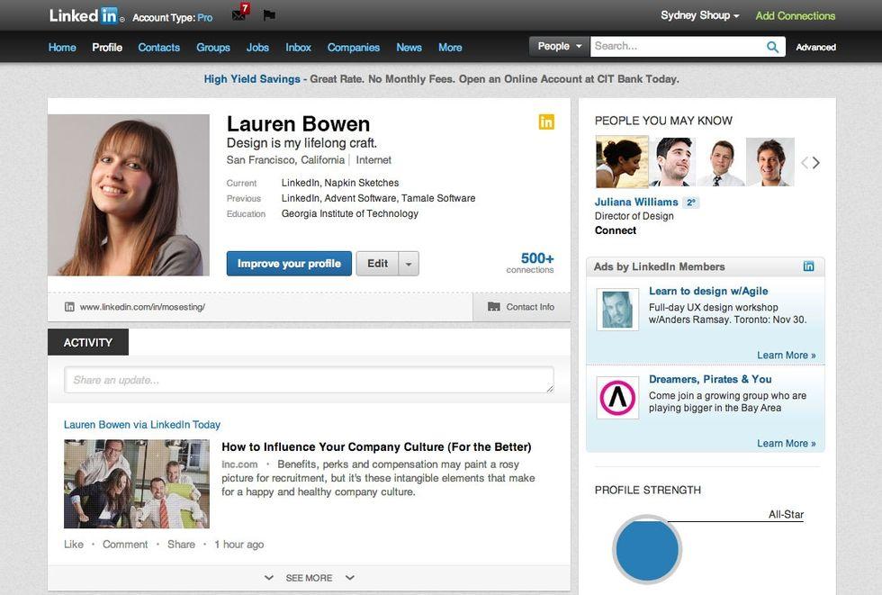 LinkedIn rinnova le pagine profilo, trovare lavoro sarà (un po') più facile